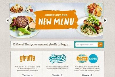 what makes a good restaurant website