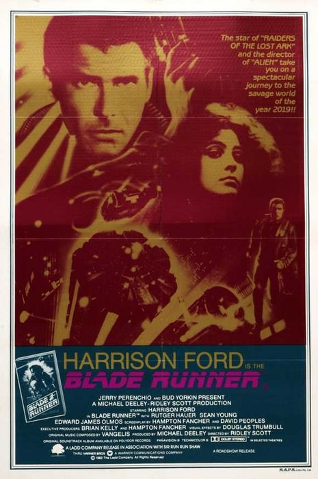 Blade Runner Blade Runner Blade Runner Poster Movie Posters