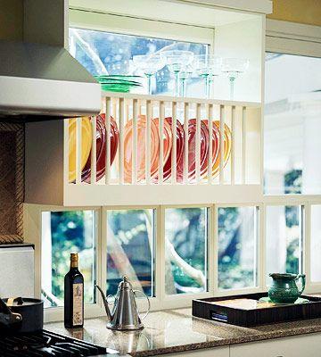 Creative Ways to Store Dishes | Kitchen storage, Kitchen ...