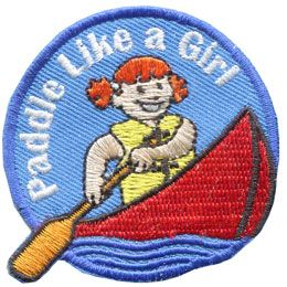 Image result for girl scout canoe