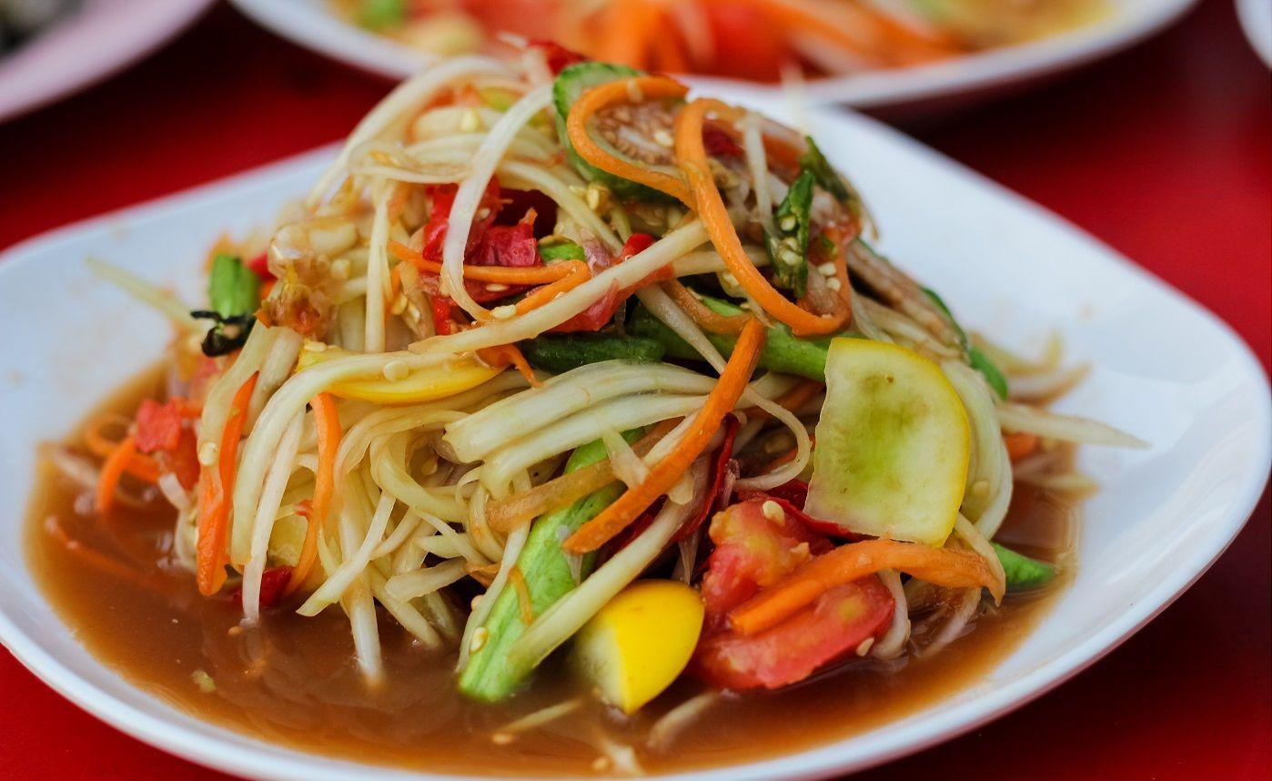 Afbeeldingsresultaat voor som tam bangkok