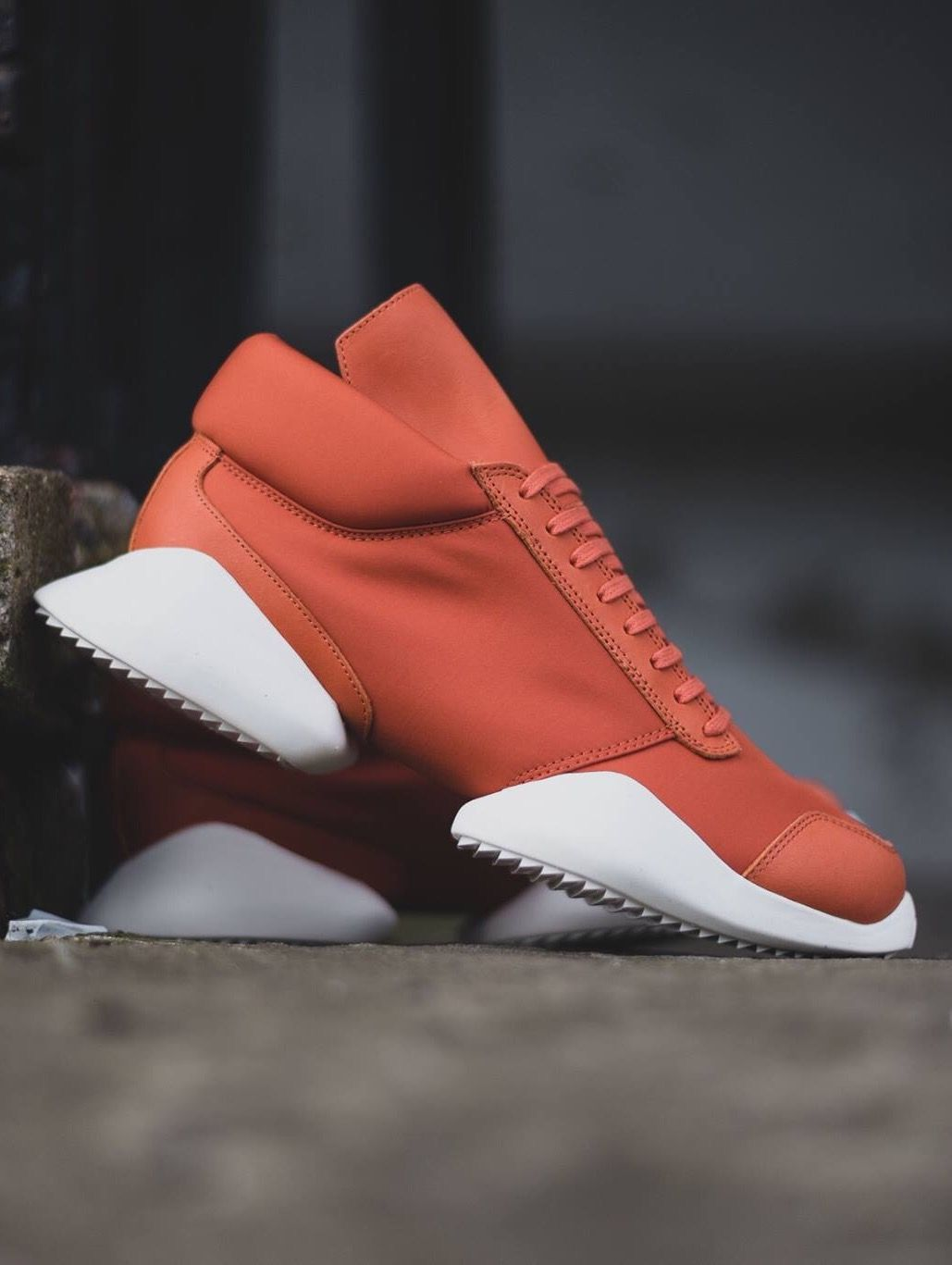 Rick Owens x adidas Runner: Fox Red