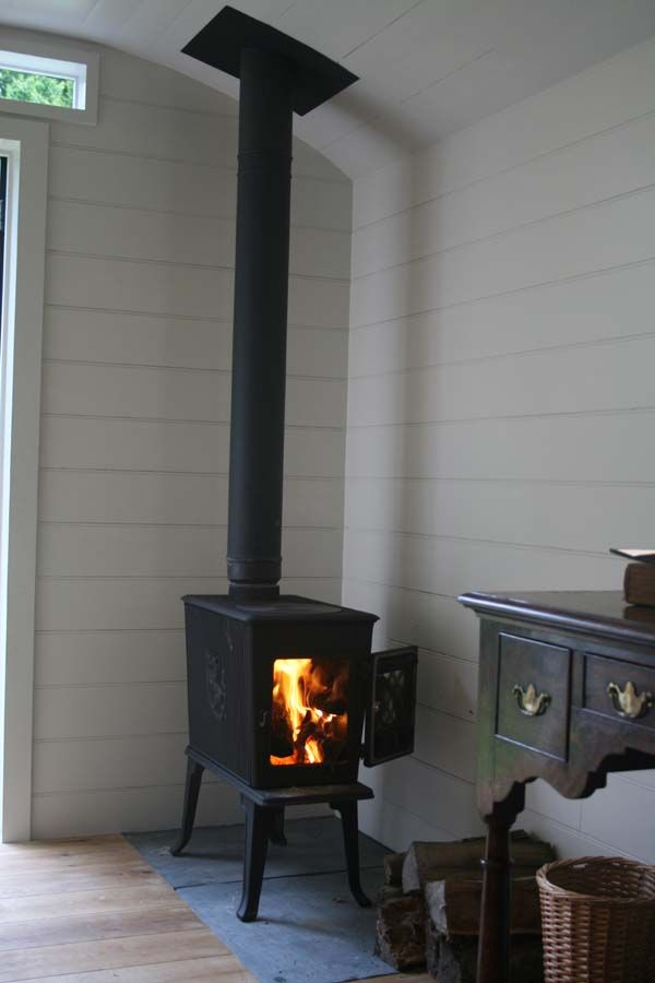 Google Image Result For Http Www Courtandhunt Co Uk New Wp Content Uploads 2012 02 Shepherds Hut Inte Freestanding Fireplace Wood Burning Stove Shepherds Hut