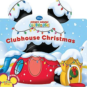 Disney Clubhouse Christmas Book- Mickey Mouse Clubhouse | Disney StoreClubhouse Christmas Book- Mickey Mouse Clubhouse - Join Mickey, Minnie, Goofy, Donald, Daisy and Pluto as they deck the halls for Christmas. The Clubhouse pals and Toodles need to trim the trees, hang the mistletoe and make sure each twinkling light twinkles before the big day arrives.
