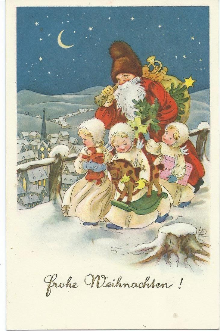 Lr luise reiher illustration luise reiher lr pinterest alte karten weihnachtskarten - Bilder weihnachtskarten ...