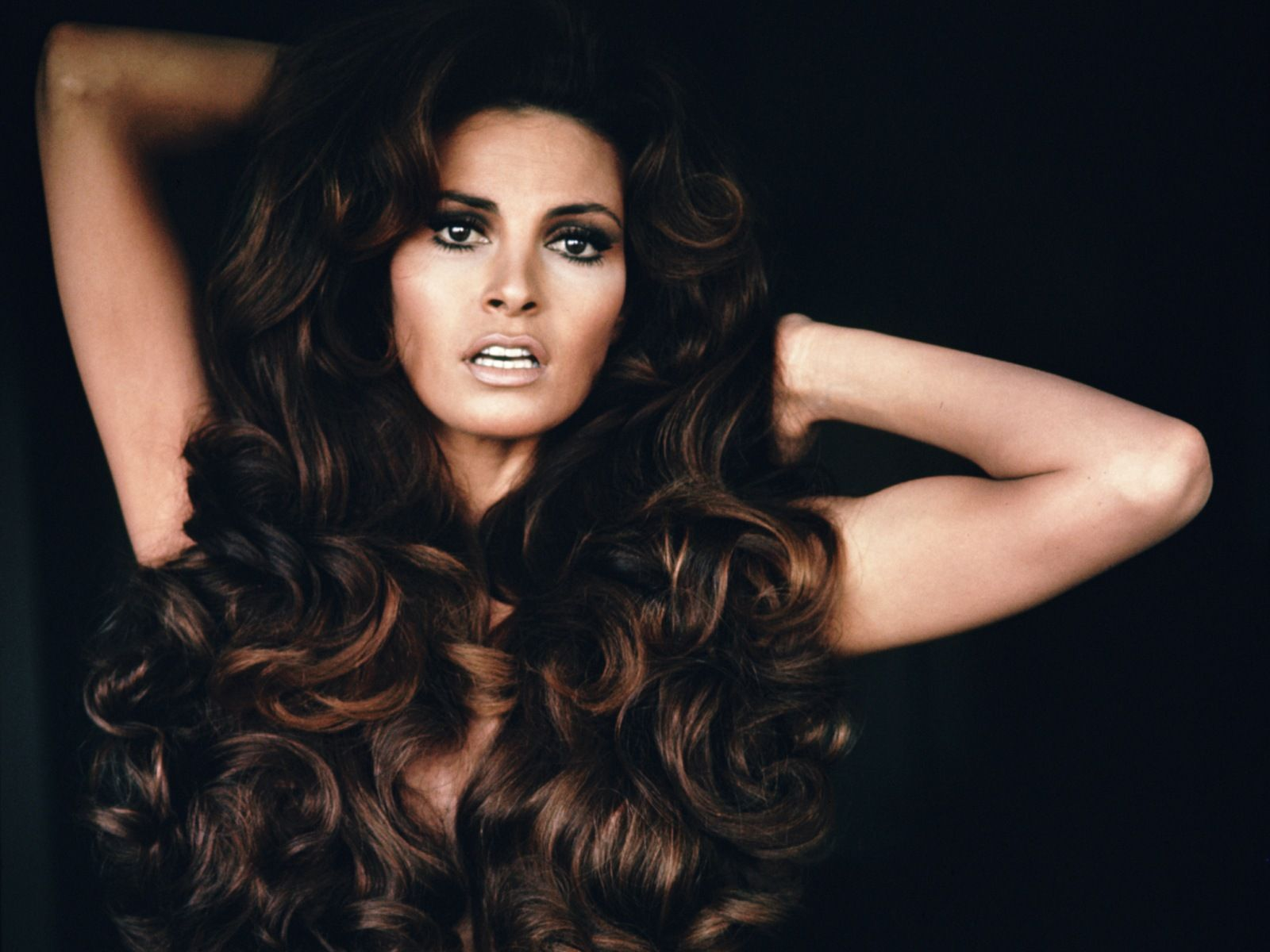 Pictures of Short Hairstyles Raquel Welch