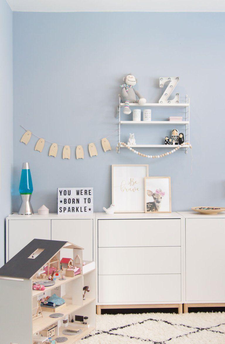 Ein Blick ins Kinderzimmer (und es ist blau!) Kinder