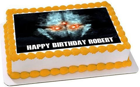 Call of Duty Ghosts 2 Edible Birthday Cake Topper OR Cupcake Topper, Decor