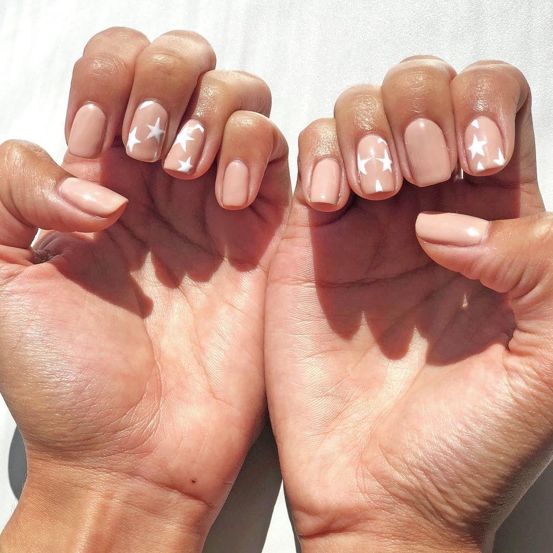 You Re A Star One Hundred Percent Oliveyourmani Reyabenitez Nails Nailsbyjessie Color Match Opi Samoan Sand Star Nails Nails Cute Acrylic Nails