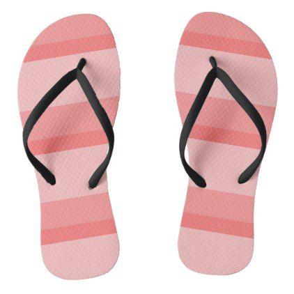 Strips - pink. flip flops - pattern sample design template diy cyo customize