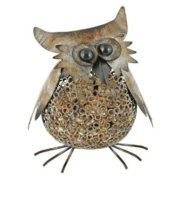 Check out this Owl Cork Cage. Indoor/Outdoor and holds 115 corks! www.mywinetreasures.com #uncorkwithclass