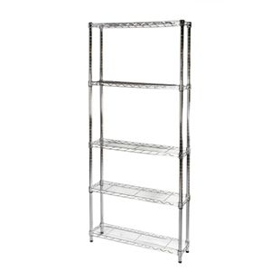 8 D X 24 W Wire Shelving Unit With 5 Shelves 8 Shelving Set Wire Shelving Units Wire Shelving Shelving