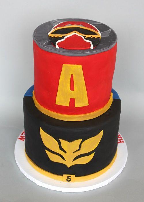 Awesome Power Rangers Megaforce Back 7304 Gateau Funny Birthday Cards Online Inifodamsfinfo