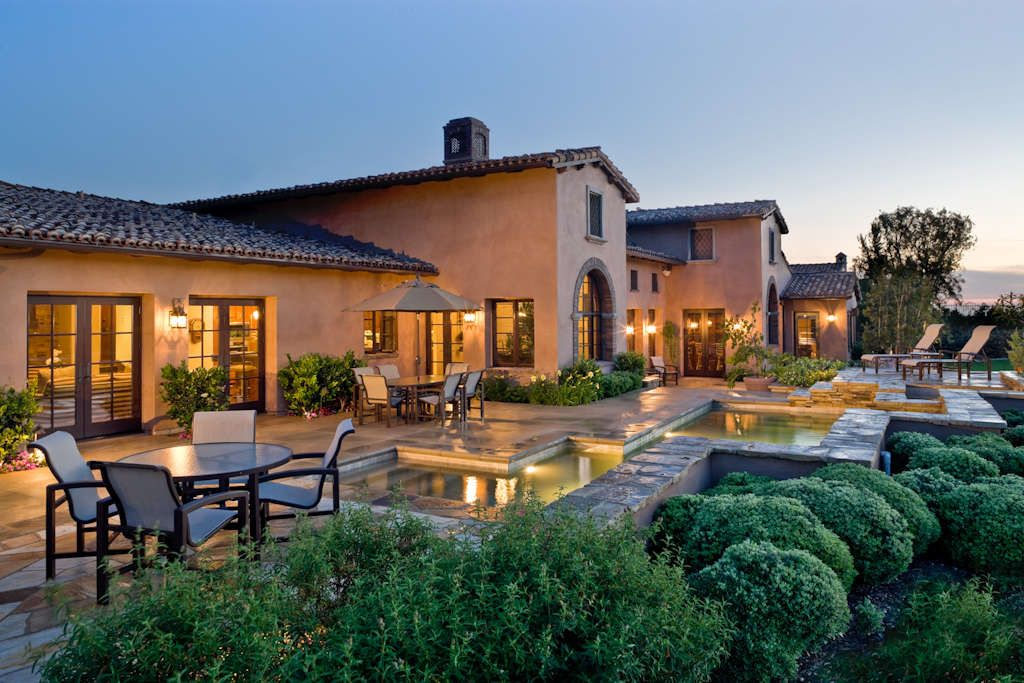 Tuscan italian style home beautiful homes pinterest - Ca home design ideas ...