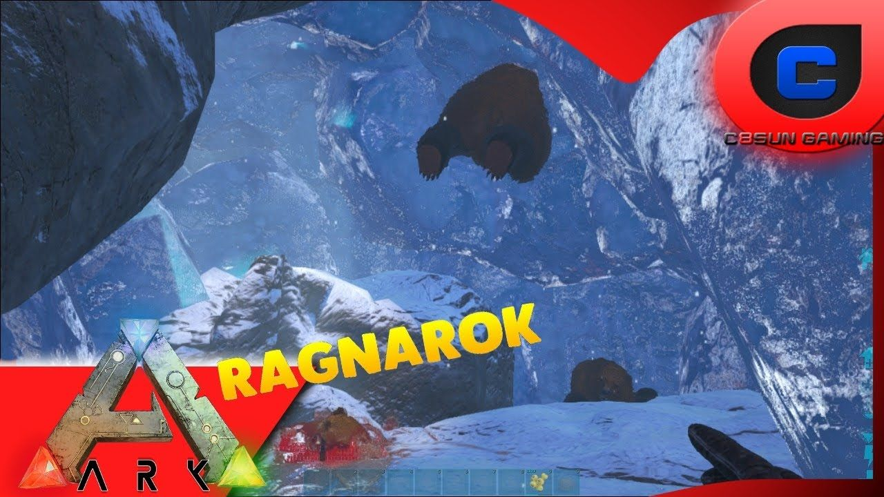 ARK: Survival Evolved - Ice Cave Fail - Creative Ragnarok DLC