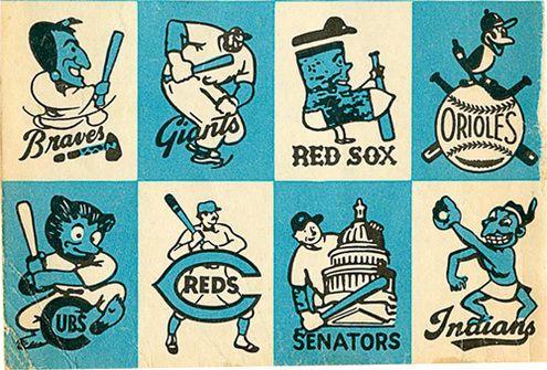 Vintage Baseball Logos From 1956 Vintage Baseball Baseball Teams Logo Baseball Art