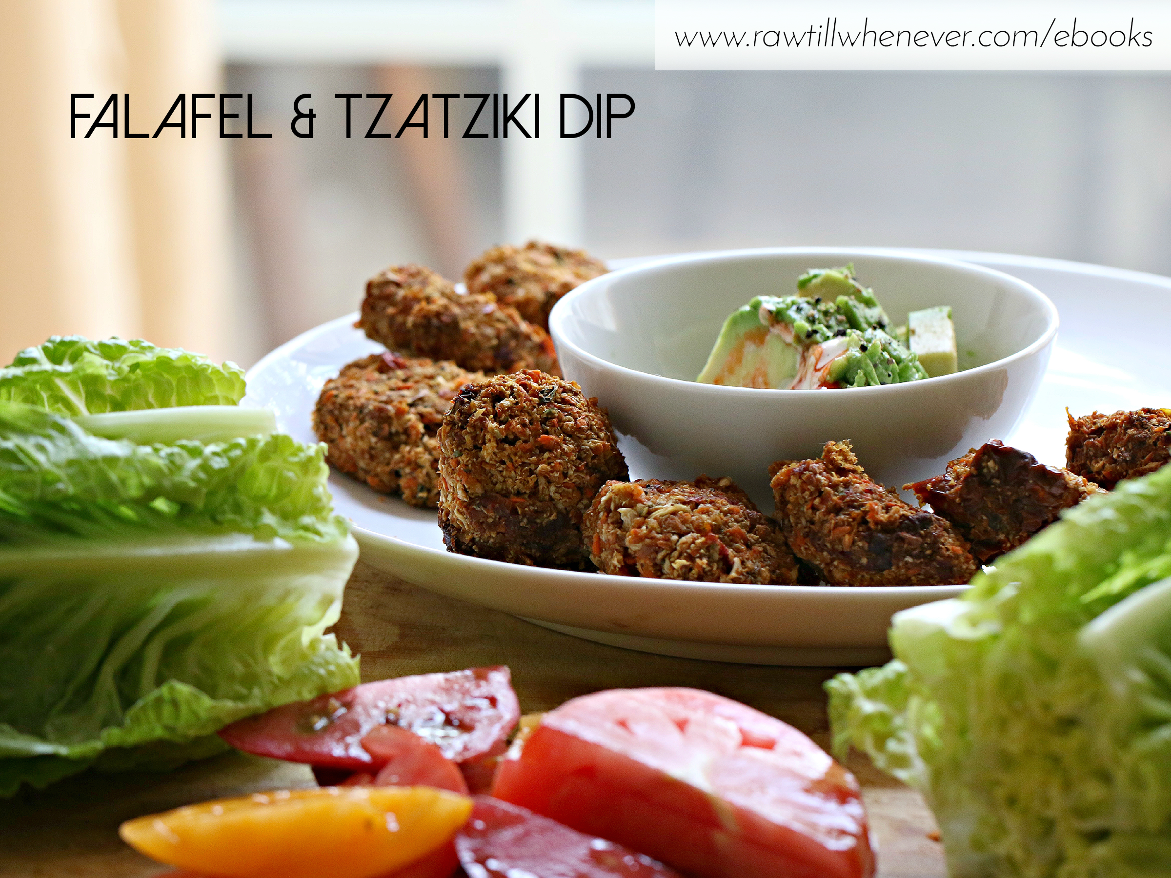 Falafel tzatziki dip recipe featured from my raw vegan recipe book falafel tzatziki dip recipe featured from my raw vegan recipe book ilikeitraw forumfinder Image collections