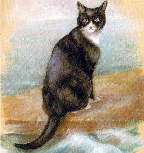 Unsinkable Sam By Georgina Shaw Baker In The Maritime Museum Greenwich Great Cat Cats Cat Art
