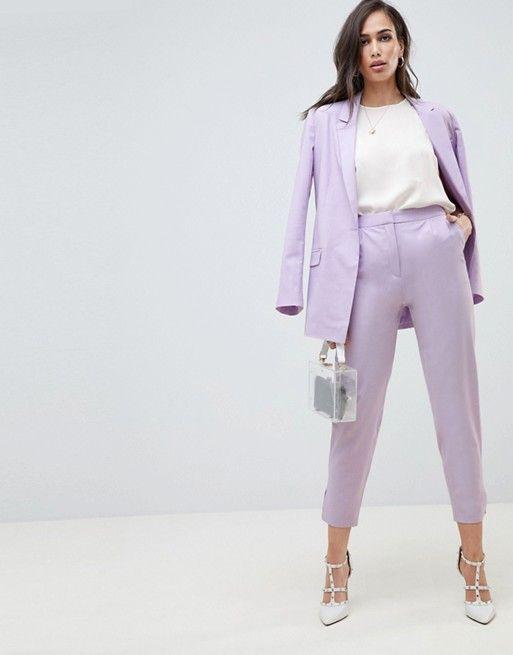 Lavender Pant Suit Womens