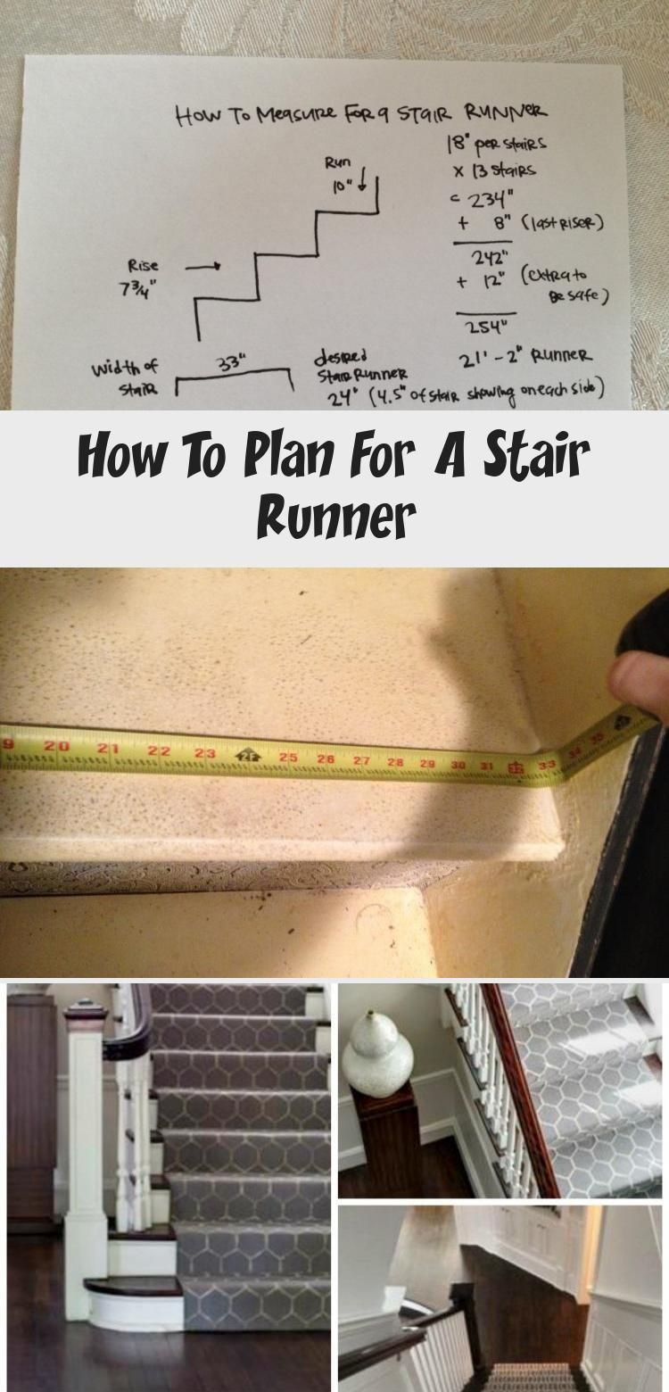 How To Plan For A Stair Runner Tips On Measuring And Finding The   Measuring Stairs For Carpet   Square Feet   Square Foot   Rug   Stair Runner   Flooring
