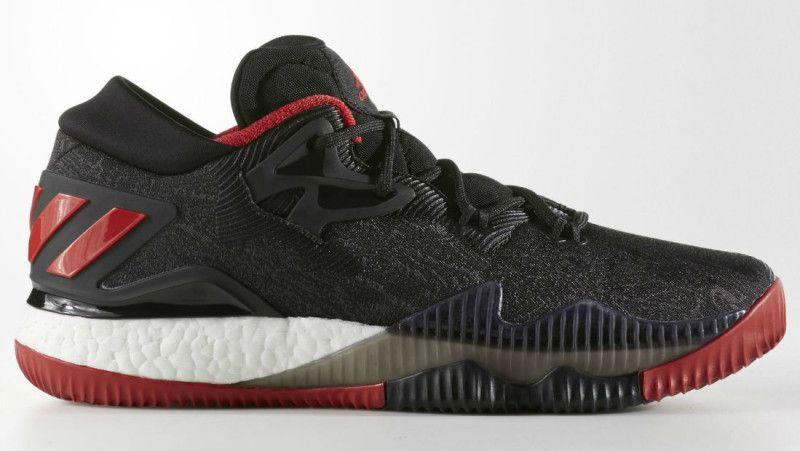best sneakers b833f 4f9cd ... adidas Crazylight Boost 2016 Black DenimRed (1) ...