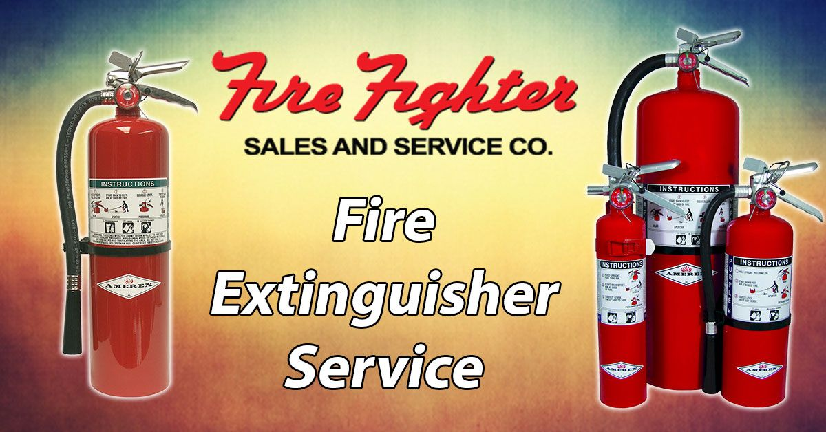 Your dry chemical fire extinguishers are required to have