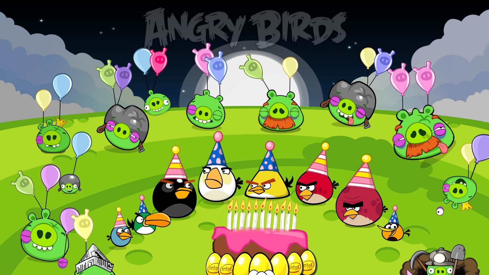 Angry Birds Birthday Party With Images Angry Birds Party Bird