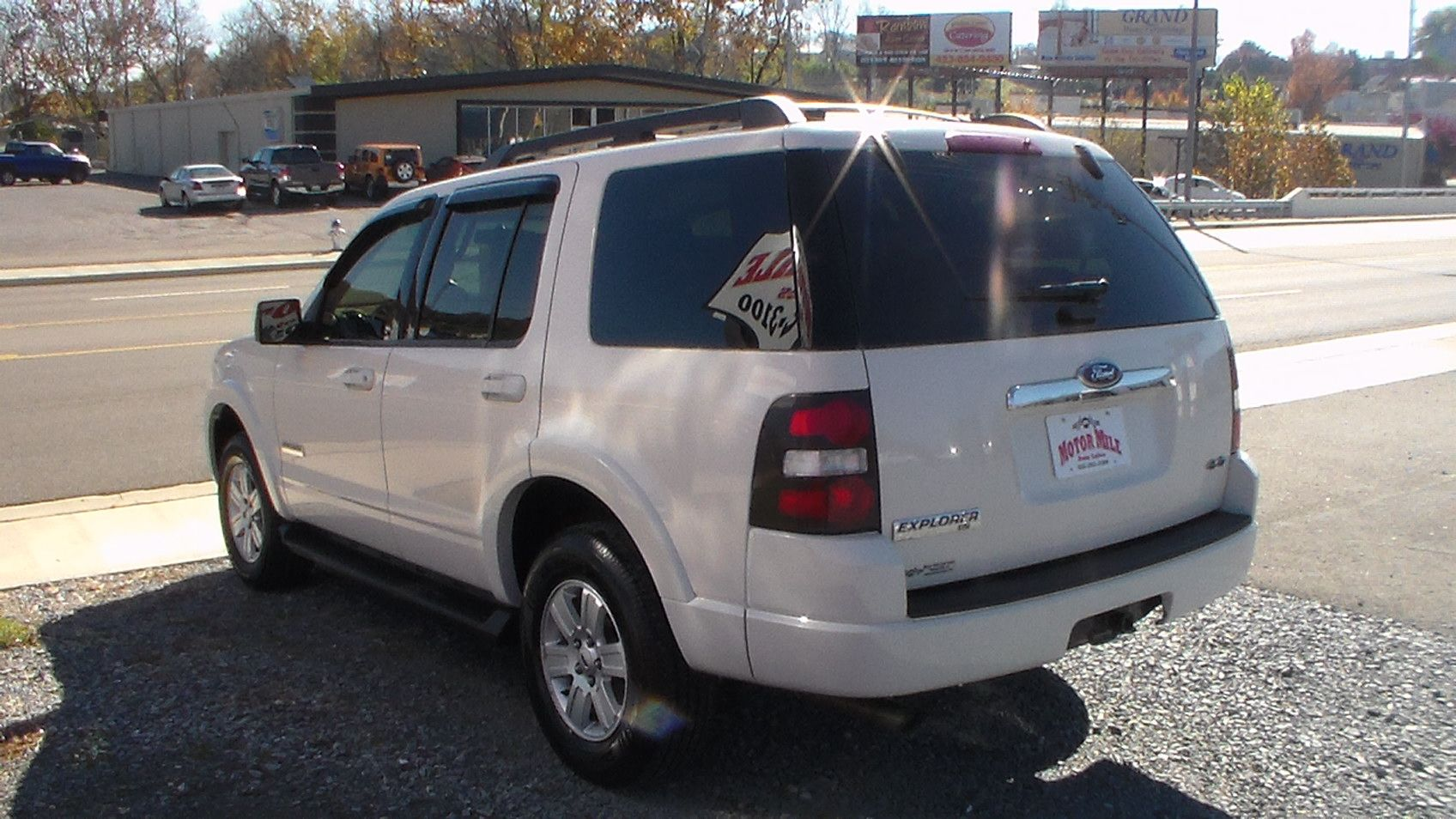 2008 ford explorer xlt 4 wheel drive automatic with 130k