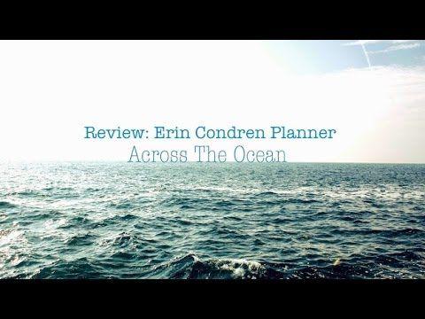 Review - Erin Condren Planner - YouTube #erincondren #eclifeplanner14 #lifeplanner #eclp #fabfans