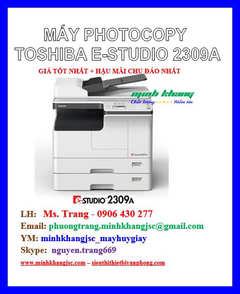 Máy photocopy toshiba estudio 2309a giá tốt tháng 032017 - raovat49.com