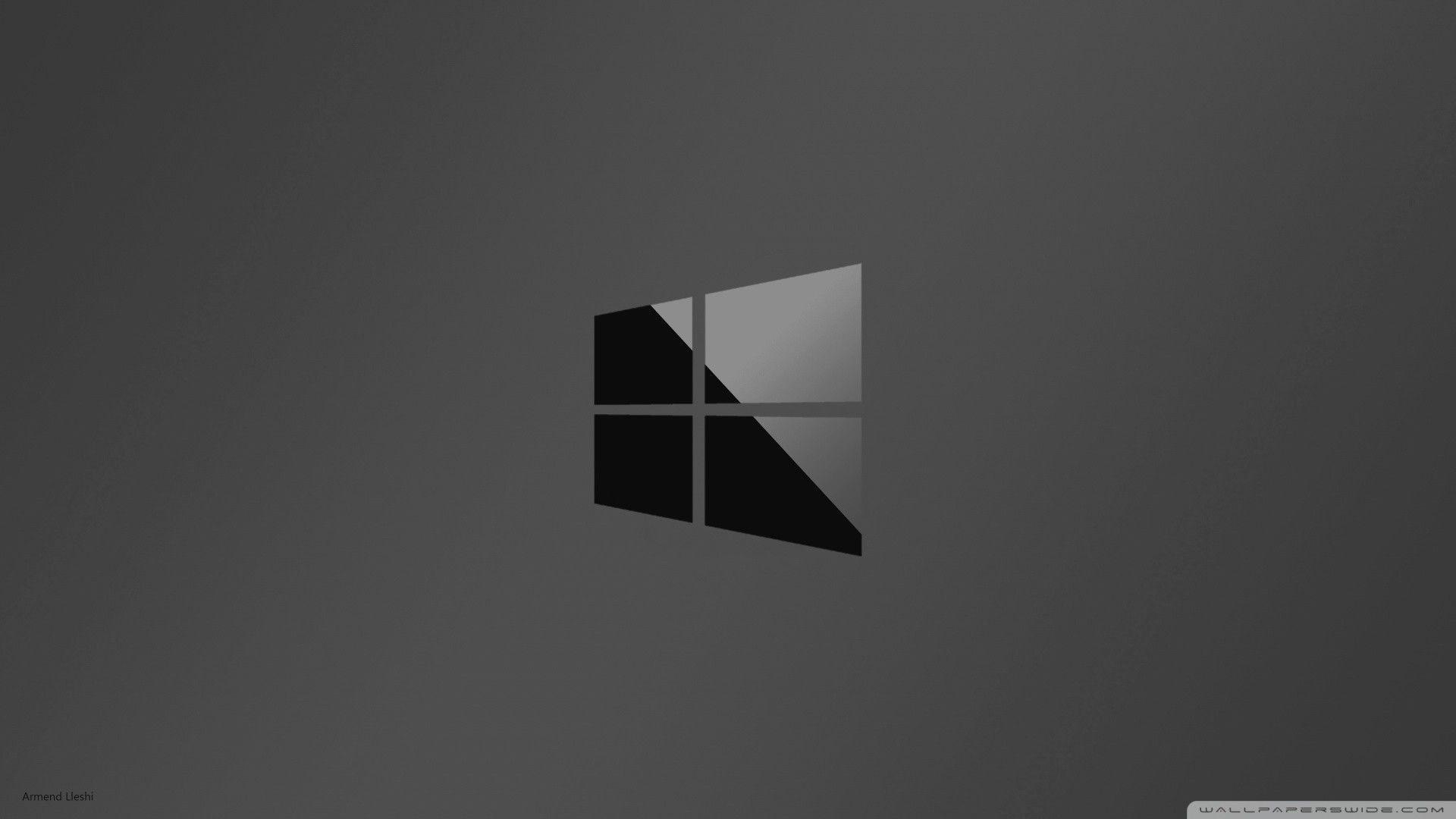 1920x1080 Hd 16 9 Wallpaper Windows 10 Desktop Wallpaper Black Windows Wallpaper