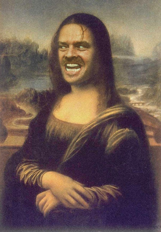 Mona Lisa Smile   Mona-co   Pinterest   Fotos divertidas, Mono y ...