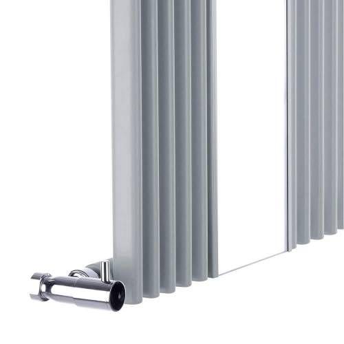 design heizk rper vertikal silber mit spiegel 935 watt 1600mm x 420mm keida heizk rper spiegel. Black Bedroom Furniture Sets. Home Design Ideas