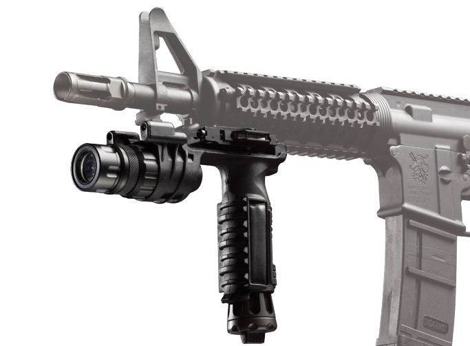 SureFire Vertical Foregrip LED WeaponLight White and IR Output