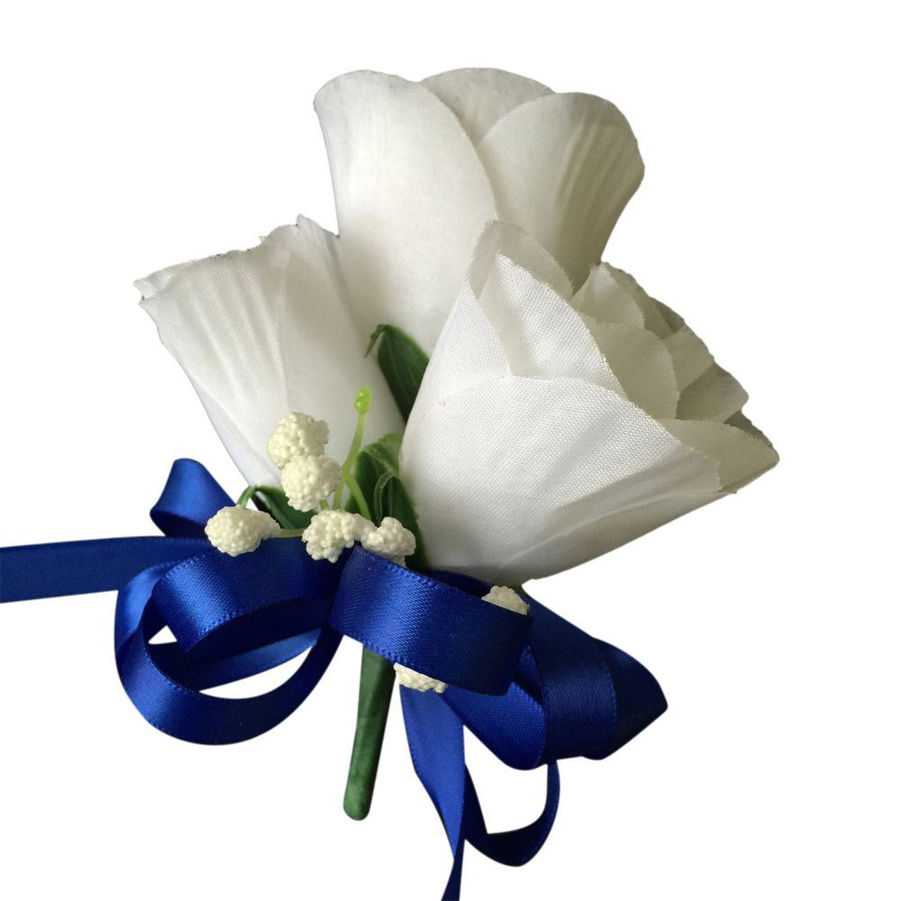 13pc royal blue and white artificial flower wedding package 13pc royal blue and white artificial flower wedding package izmirmasajfo