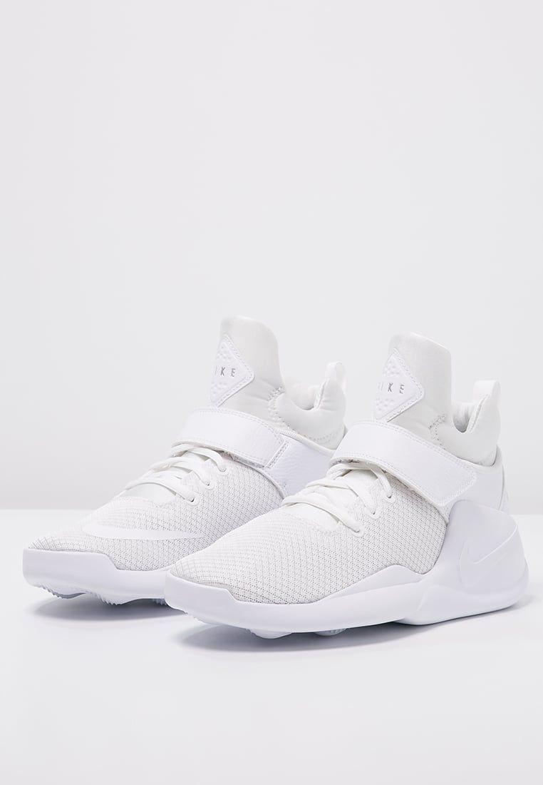 tofu Municipios espontáneo  Nike Sportswear KWAZI - High-top trainers - white/metallic silver - Zalando.co.uk  | Nike sportswear, Sportswear, Metallic silver