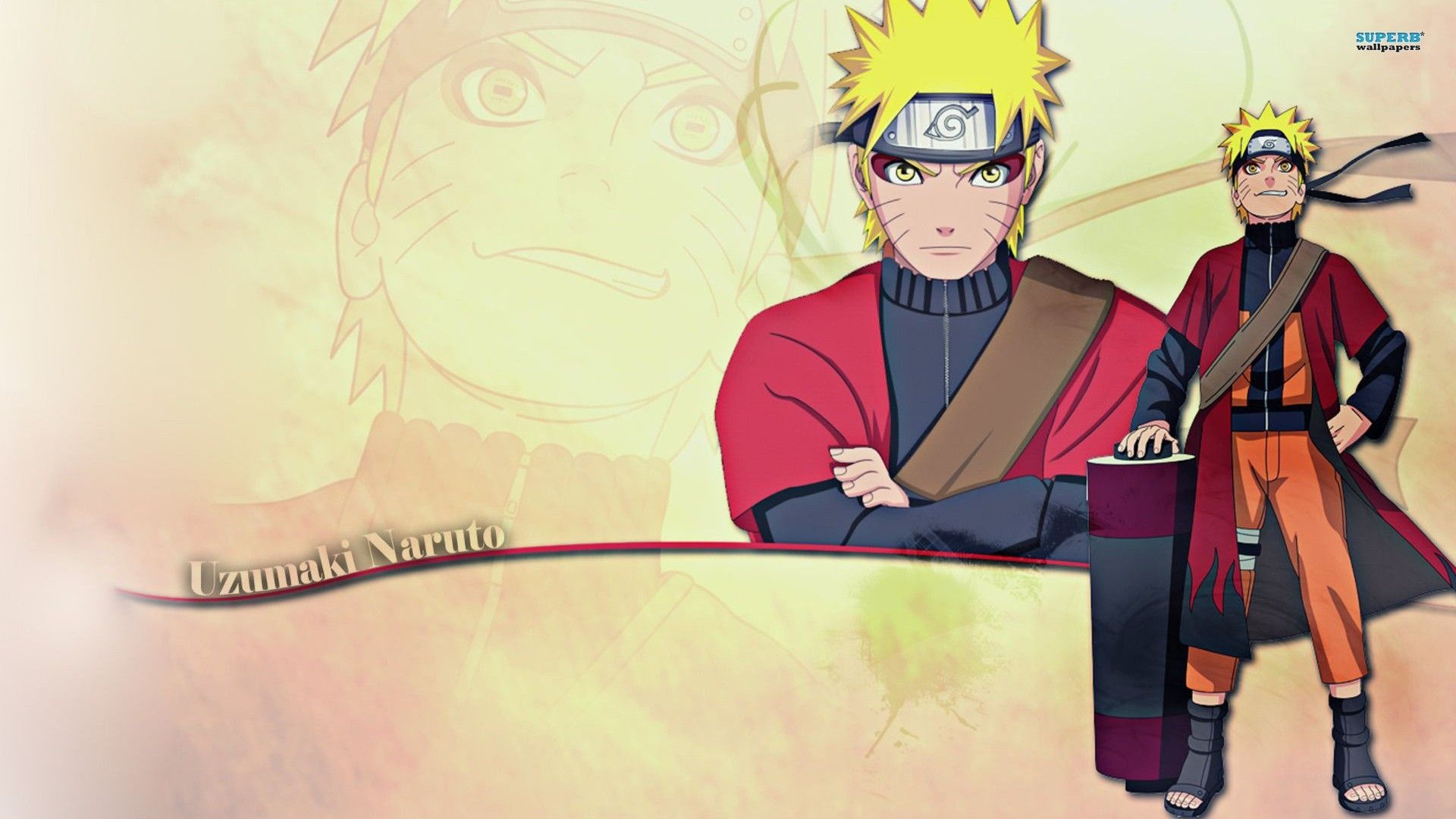 Naruto Uzumaki Sage Mode Wallpaper Widescreen Naruto Uzumaki