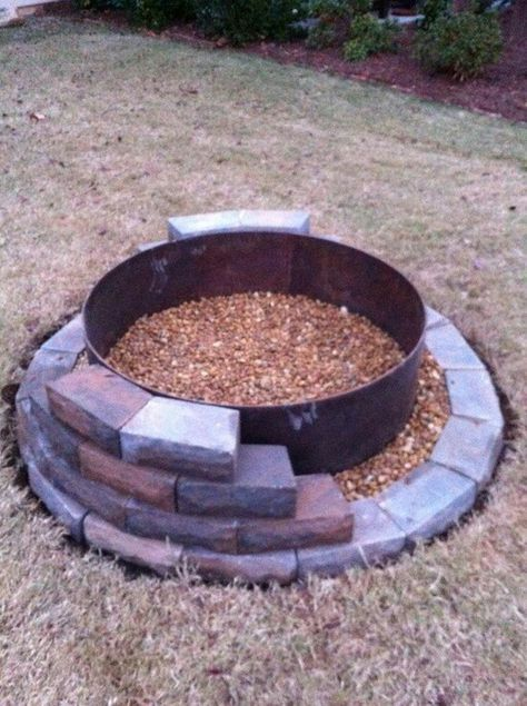 How To Dig A Fire Pit In Your Backyard - BACKYARD HOME