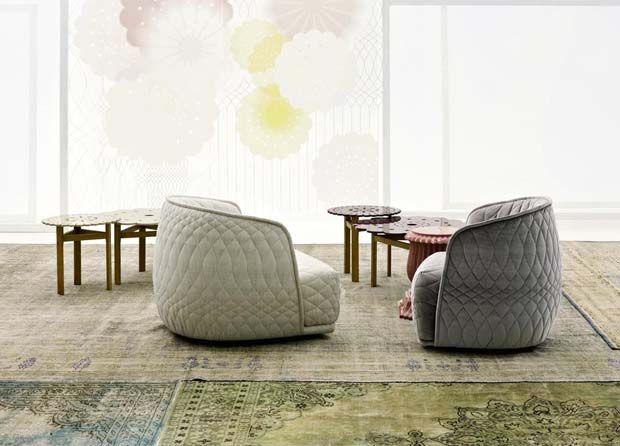 Lounge Sessel Liegen Patricia Urquiola - Design