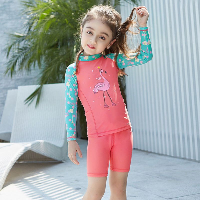 a9dd4aa84f Kids Swim Rash Guards Boys Girls Two Pieces Surfing Diving Children Bathing  Suit #fashion #clothing #shoes #accessories #kidsclothingshoesaccs ...