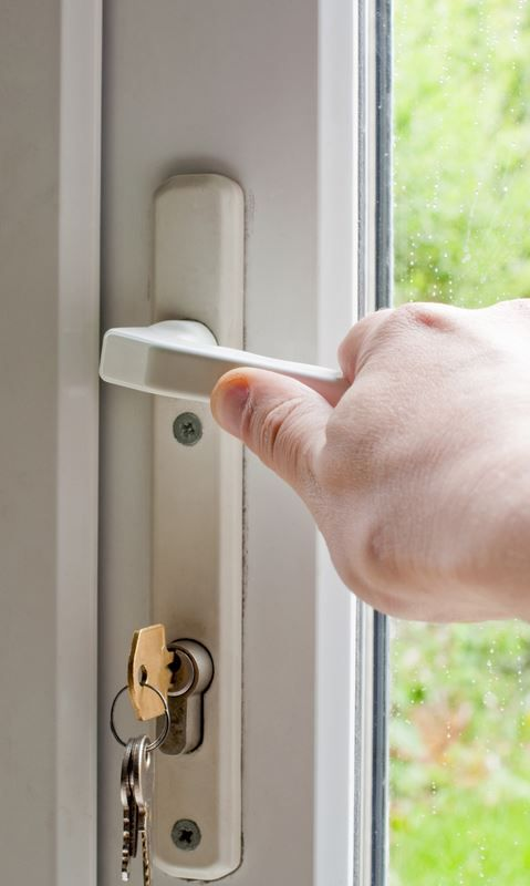 Common problems with uPVC doors The key is stuck in the lock The key ...