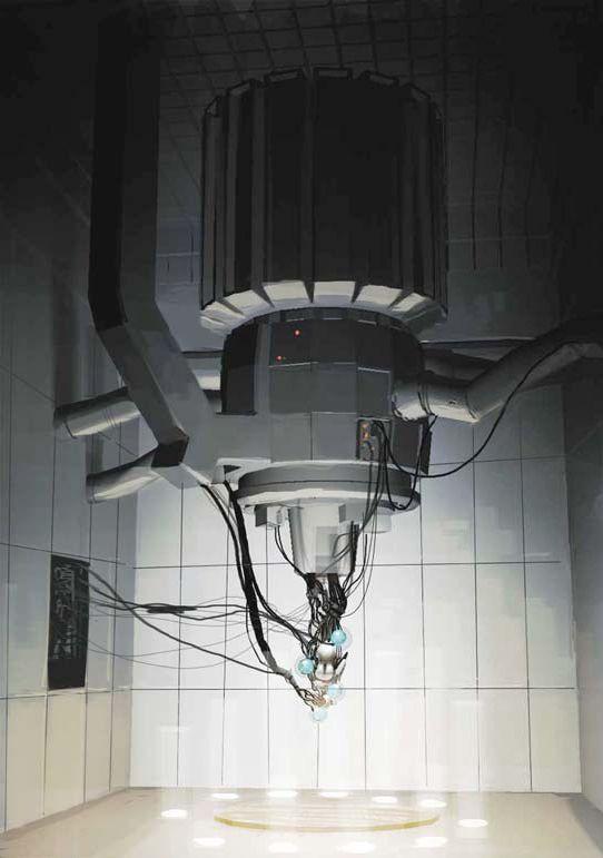 Glados Portal Concept Art Aperture Science Concept