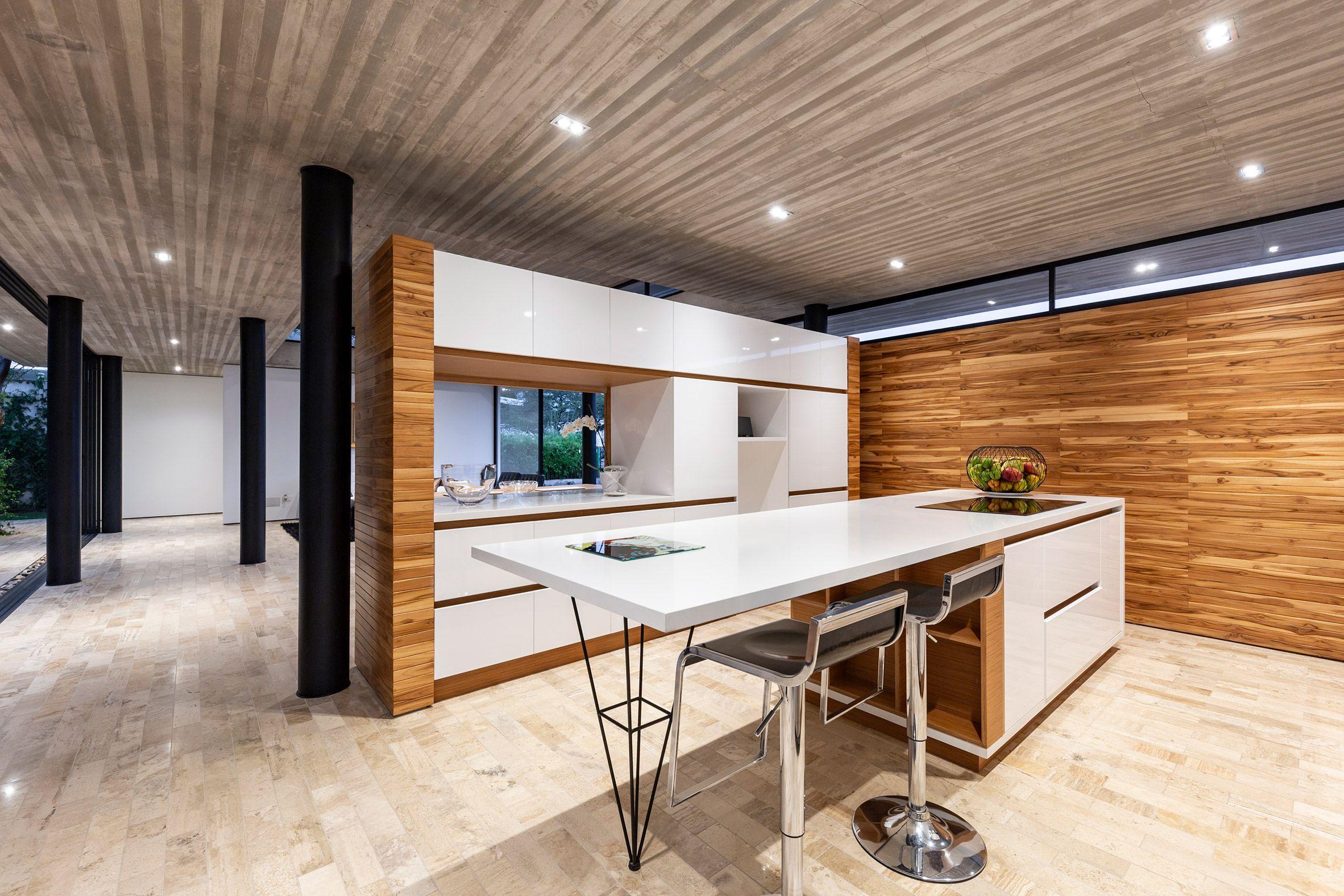 Tacuri House By Gabriel Rivera Modern House Design House Design Contemporary Interior Design