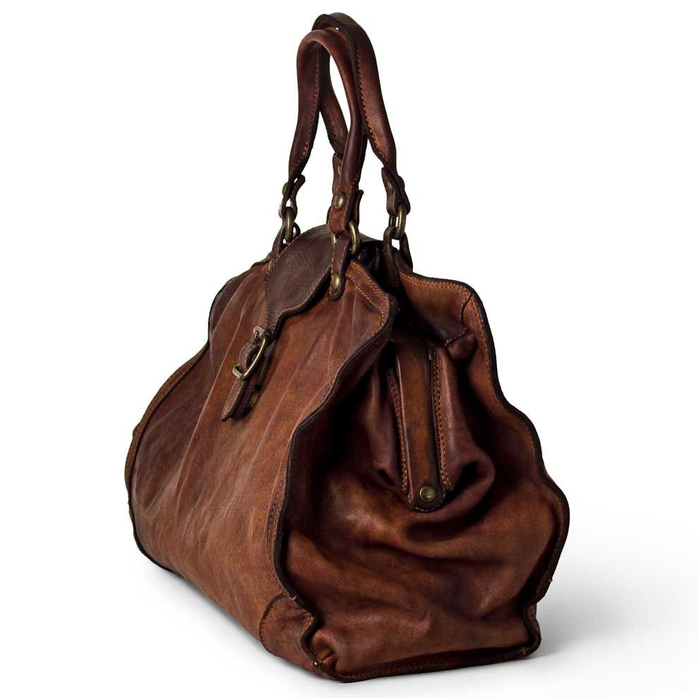 febc45cdb9ae Doctor s Bag in Washed Leather from Campomaggi