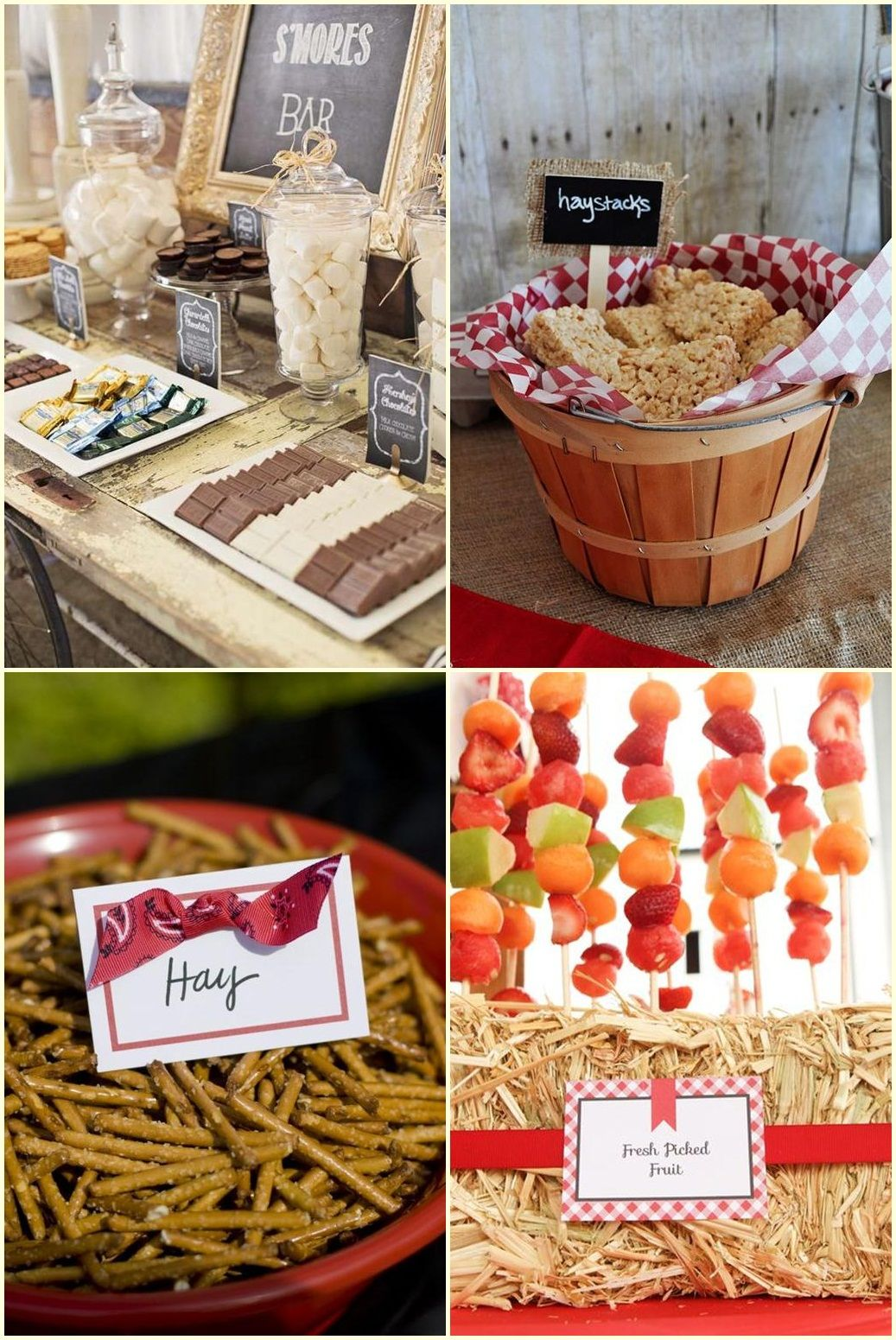 Barn party food ideas tommys 5th birthday pinterest for Party barn plans