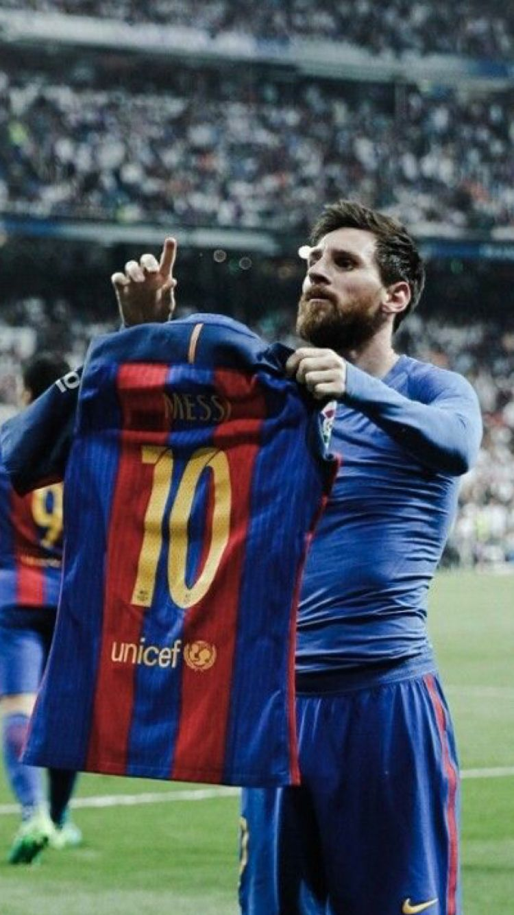 9b72b1ea324 Lionel Messi last minute winner against Real Madrid Fc , The Special  celebration 👏🏻