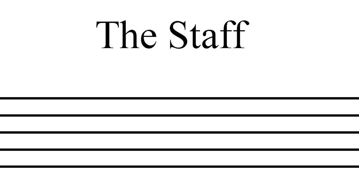 Music Is Most Commonly Notated Using The Staff And Tablature The Staff Consists Of Five Horizontal Lines On Which Musical N Staff Music Tablature Staffing