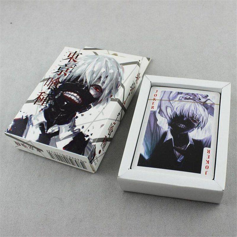 54 pcs pack tokyo ghoul black deacon poker game cards