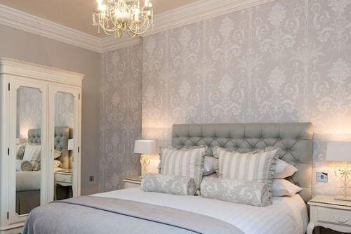 6 Rolls Laura Ashley Josette Dove Grey Wallpaper Sealed Matching