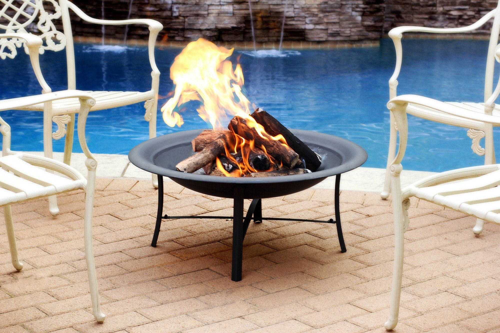 black outdoor fire pit for fireplace 30 inch fire pits pinterest